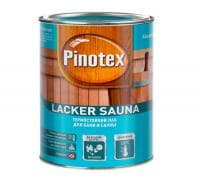 Лак PINOTEX Lacker Sauna для бани и сауны термостойкий
