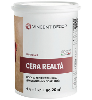 Воск Защитный Vincent Decor Cera Realta