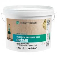 Декоративное покрытие Vincent Decor Decorum Provence base creme