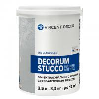 Декоративное покрытие Vincent Decor Decorum Stucco multieffet base perle